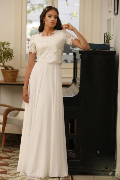 שמלות כלה צנועות Aria (4)