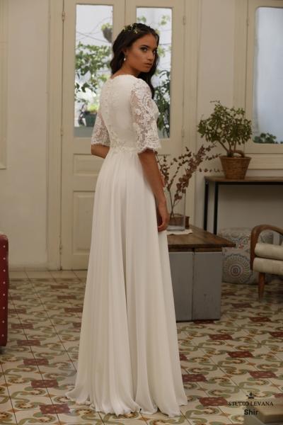 שמלות כלה צנועות Shir (2)