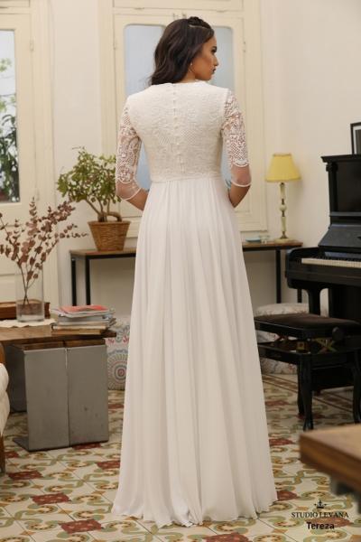 שמלות כלה צנועות Tereza (2)