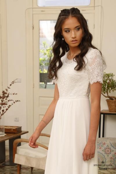 שמלות כלה צנועות Tessa (1)