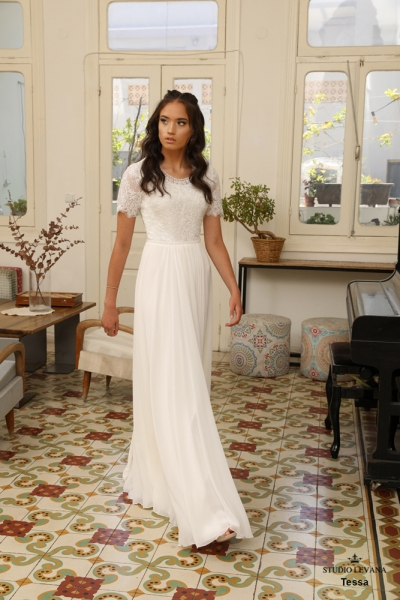 שמלות כלה צנועות Tessa (2)