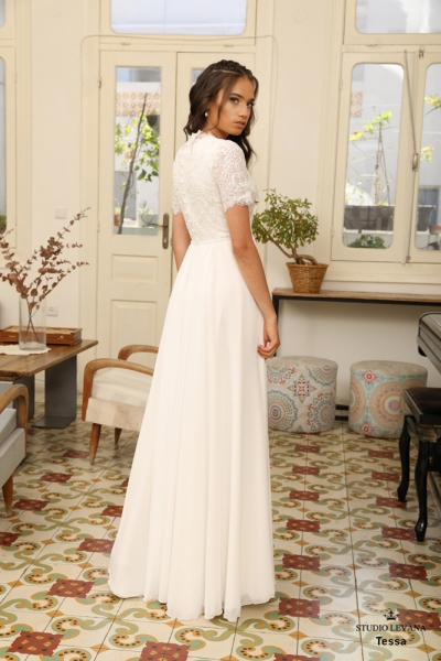 שמלות כלה צנועות Tessa (3)