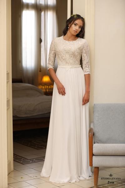 שמלות כלה צנועות Zoia (1)