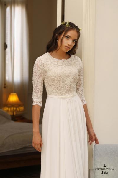 שמלות כלה צנועות Zoia (3)