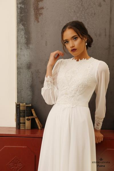 שמלות כלה צנועות Faina (1)