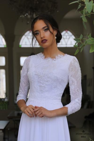 שמלות כלה צנועות Mila (1)
