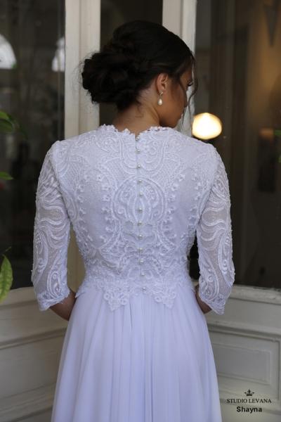 שמלות כלה צנועות Shayna (3)