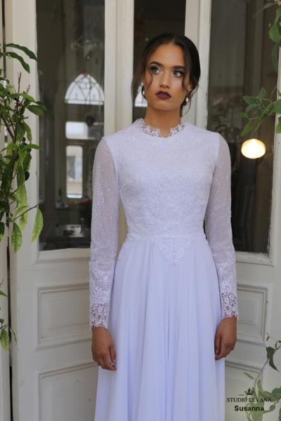 שמלות כלה צנועות Susanna (3)