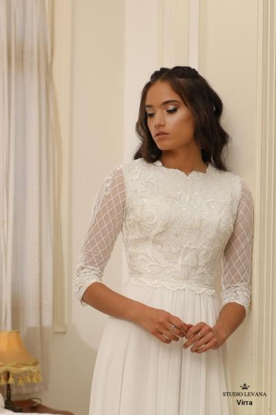 שמלות כלה צנועות Virra (1)