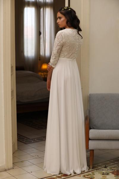 שמלות כלה צנועות Zoia (2)